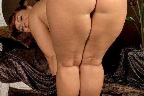 Photo de femme ronde black nue