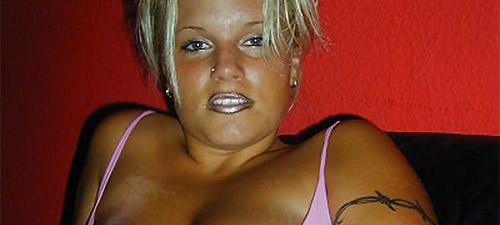 blonde ronde coquine