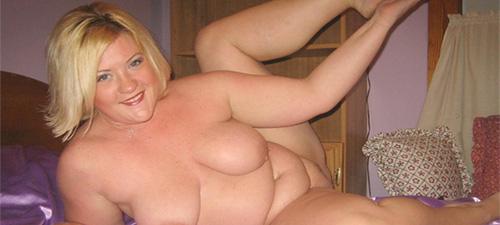 Photo de florine jeune femme ronde blonde