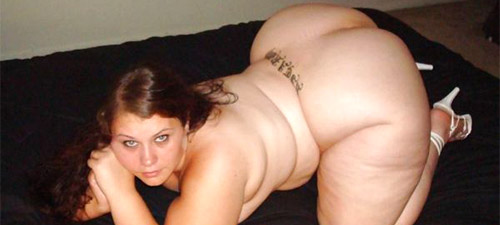 femme ronde nue et coquine