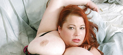 grosse coquine rousse
