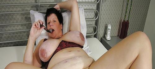 femme ronde de 40 ans