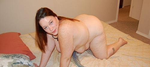 photo de femme ronde nue
