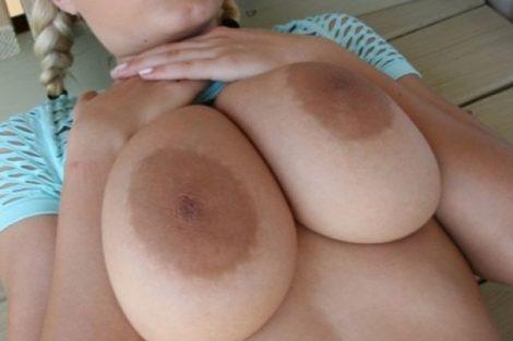 blonde chaude topless